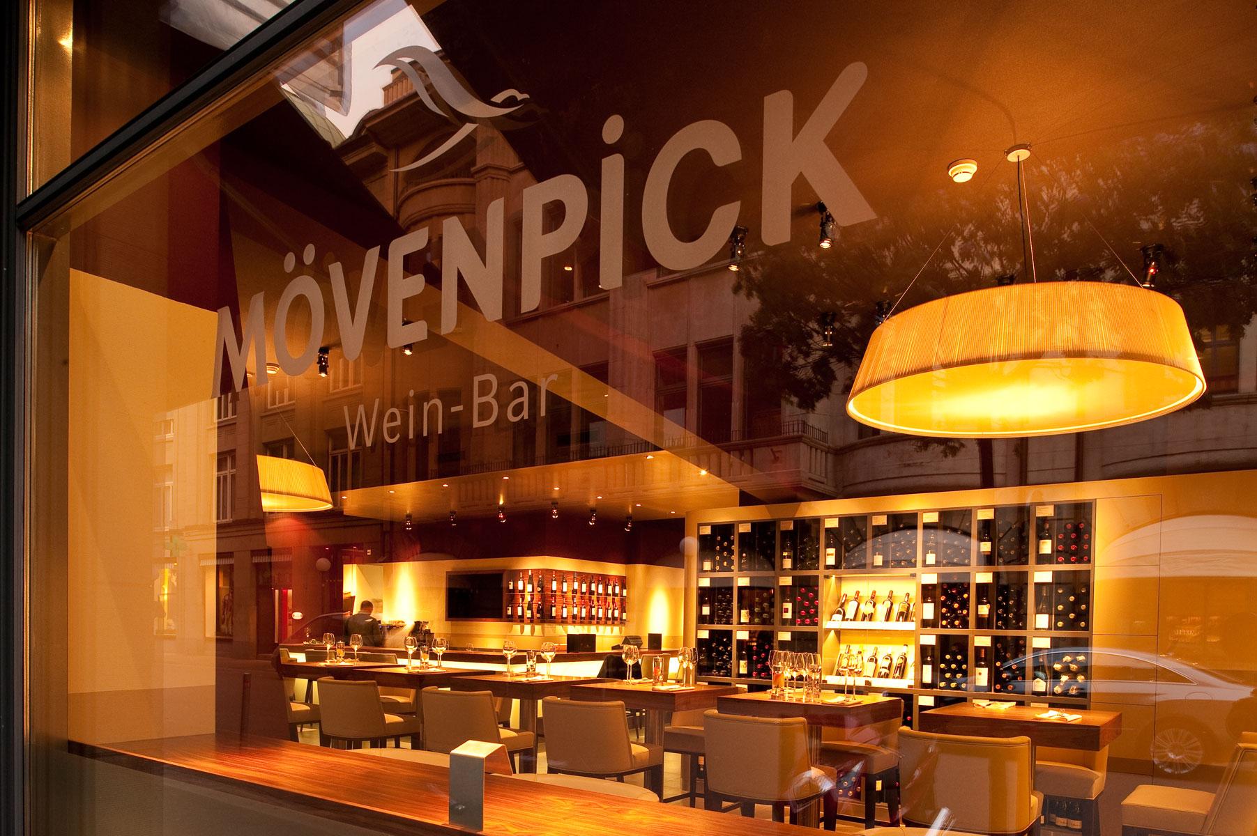 Mövenpick Wein Bar, Zürich | Wallimann Konzepte & Planung GmbH